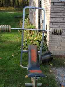 weight set Peterborough Peterborough Area image 1