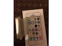 iPhone 5s 16gb gold o2 perfect condition