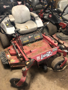 2013 ride on rider exmark lawn mower