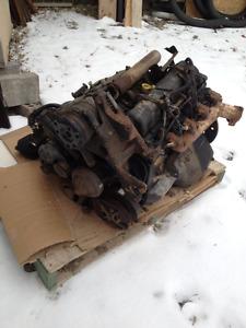 6.5 turbo diesel engine. From 2001 1-ton dump truck