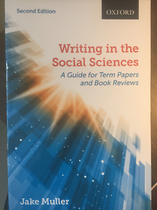 Writing in the Social Sciences: A Guide for Term Papers and Book