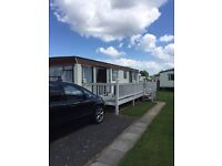 Caravan butlins Skegness term time breaks 9 birth 3 bedroom van.
