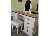 Refurbished Solid Pine Dressing Table / Can Deliver