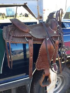 Saddles and tackle for sale