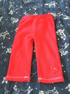 12-18 month fleecy warm pants