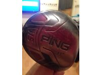 PING i15 driver stiff shaft 11degree