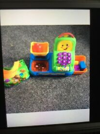 Fisher price till and shopping bag