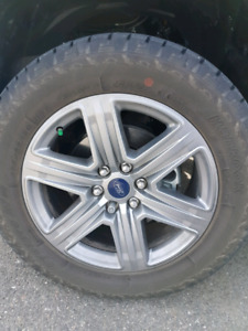 "Ford F150 20"" Rims and Tires"