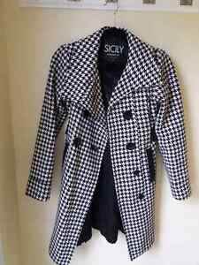 SICILY clothing & Co. Jacket Coat winter checkered Extra Small