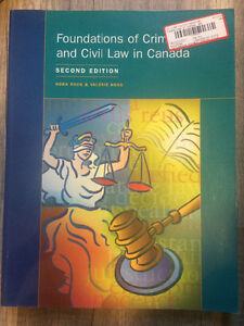 Foundations of criminal and Civil law in Canada Windsor Region Ontario image 1