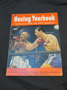 vintage 1953 Boxing Yearbook Magazine
