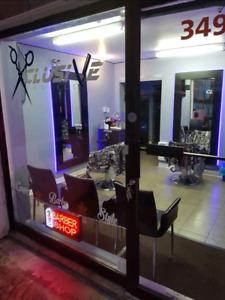 Barbershop à vendre (Ready)