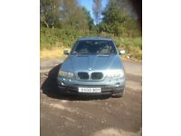 BMW X5 3.0d 2003 on private plate