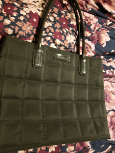 Givenchy black tote laptop bag with mini wallet