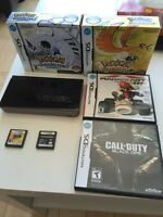 NINTENDO DS XL WITH MANY GAMES