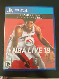 NBA Live 19 The One Edition PS4
