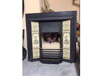 Cast Iron Decorative Fire Insert