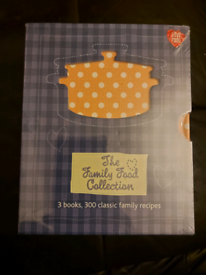 The Family Food Collection Book Set Brand New