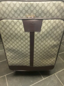 Gucci medium suitcase and holdall bag set quick sale