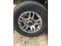 """4x4 16""""alloy wheels"""