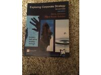 Exploring Corporate Strategy - text & cases