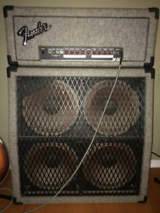 FENDER M80 amp head and cabinet