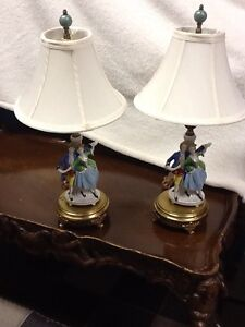 Antique vanity lamps - Still available