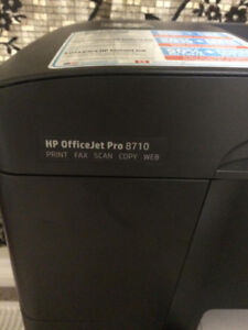 HP OfficeJet Pro 8710 Wireless Colour All-In-One Inkjet Printer