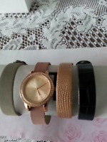 WATCH WITH 4 BANDS