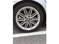 Bmw 1 series alloys with tyres
