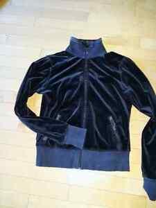 Lululemon Black Velour Jacket - Size 8 Kingston Kingston Area image 1