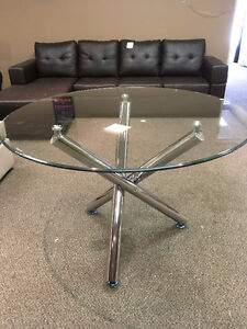 Dining table - glass