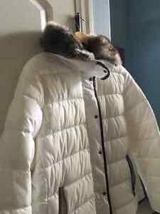 Off White Winter Jacket Kitchener / Waterloo Kitchener Area image 2