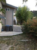 Two bedroom and Den upstairs house for rent in Merritt