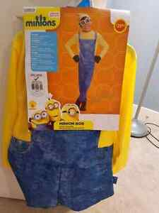 youth child Halloween costume for 8 to 10 years minion
