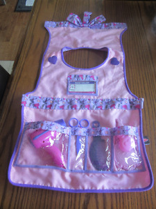 Hair Salon dress up apron with accessories by Melissa and Doug