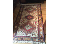 Rug , with lots of detail and colours ,