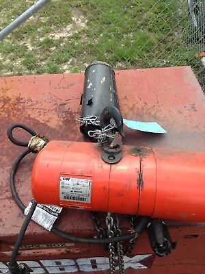 Cm Lodestar 1 Ton Chain Hoist Model H 3 Phase Power