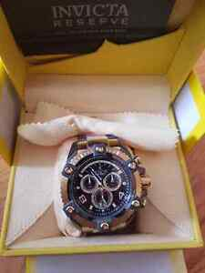Invicta Reserve Brand New 18k gold plated London Ontario image 1