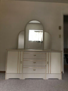 Dresser with Triple Mirror; Chest of Drawers REDUCED PRICE!
