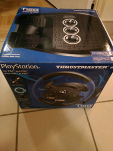 Thrustmaster T150 racing wheel (PS and Playstation compatible)