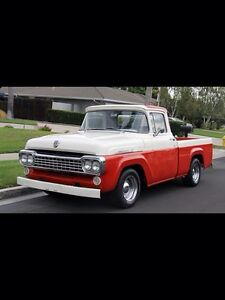 Looking for 57-58 Ford f100 trucks