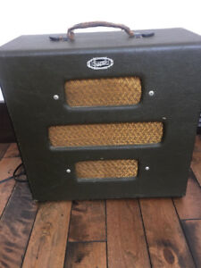 Supro Supreme Amp and Lap Steel