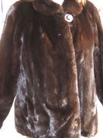 Dark Ranch Majestic Mink Jacket For Sale