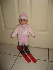 "18"" Kingstate & Geffrey & 30"" Life Size Dolls w/ Accessories"