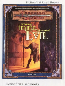 "Roleplaying Manual: ""D&D 3rd Return to the Temple of Elemental.."