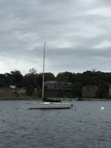 Kirby 25 Sailboat and New Trailer