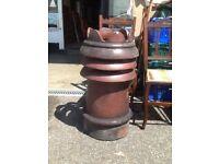 Ornate chimney pot