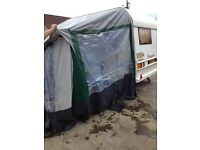 Caravan awning all season size 16'