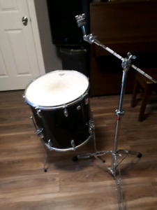 "16"" floor tom and boom cymbal stand"